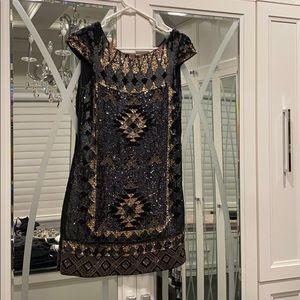 All saints Aztec sequin dress. Perfect condition